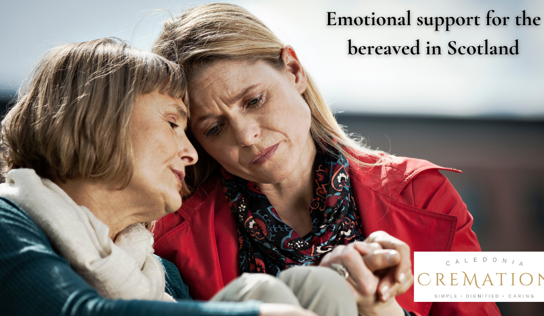 Emotional support for the bereaved in Scotland